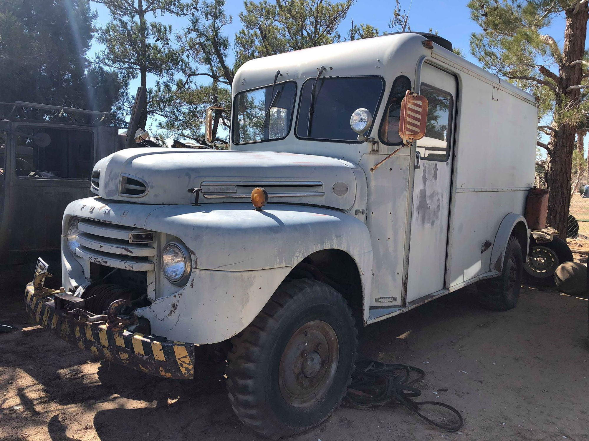 1948 Ford Herrington Step Vanhow Rare Truck Enthusiasts Grain Trying To See If Anyone Knows Anything About This Model Marmon Ive Looked All Over The Internet And Nothing