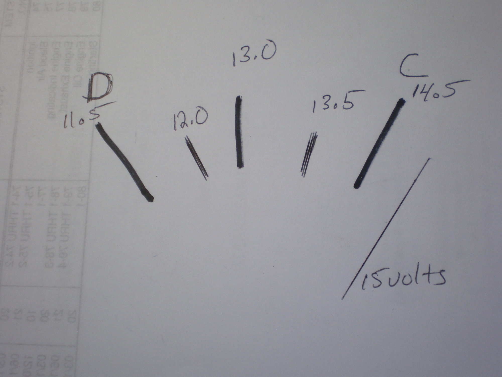 Voltmeter Wiring Diagram Ford Posts Amp Gauge 1968 Chevy How To Swap Meter Volt Truck Enthusiasts Forums Ammeter