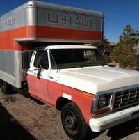 1979 Ford F350 U Haul By Old Uhaul Ford Trucks Com