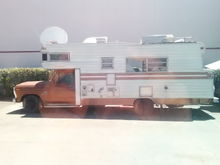 The Honeycomb Hideout.  1974 Roll A Long Camper