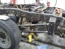 Custom 4 link with Air Bags
