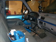 the interior work i did myself