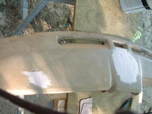 after bondo applied