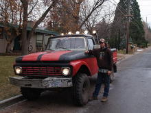 my pride and joy. i can say in all honesty, that i built this truck from the ground up by myself.