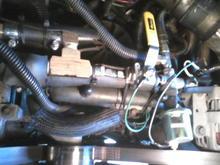 HIH system with coolant ball valve, veg oil ball valve, pressure sender and veg oil temp sender