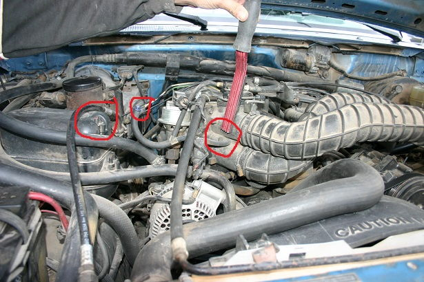 Need Pictures Of Engine Bay  Emissions Diagram 1993 F250