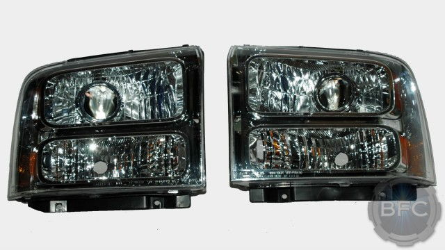 05 07 Ford F250 F350 F450 Superduty HID Projector Retrofit