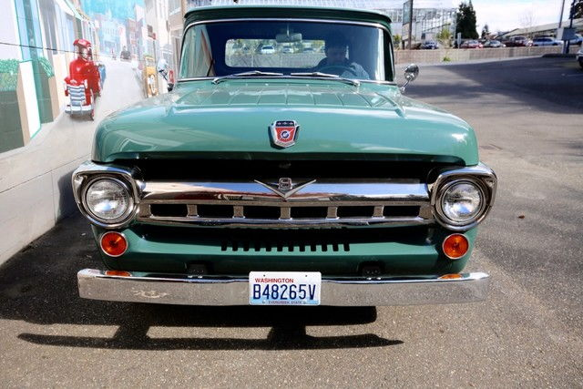 57 Hood Emblem Ford Truck Enthusiasts Forums