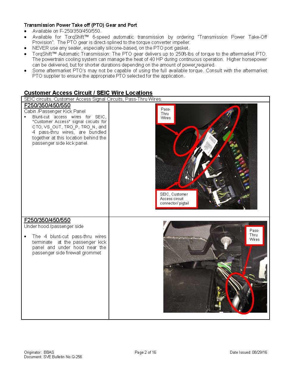 Customer Access Wire Bundle