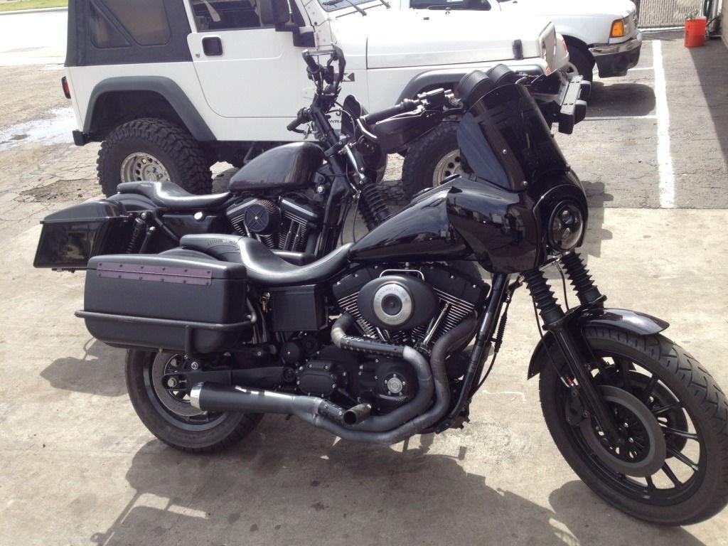 Harley Davidson Dyna Hard Bags