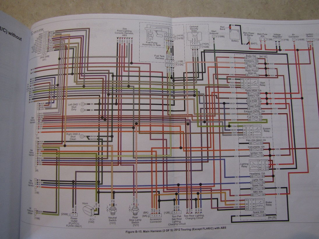 Harley Davidson Wiring Diagrams and Schematics Source. wiring ...