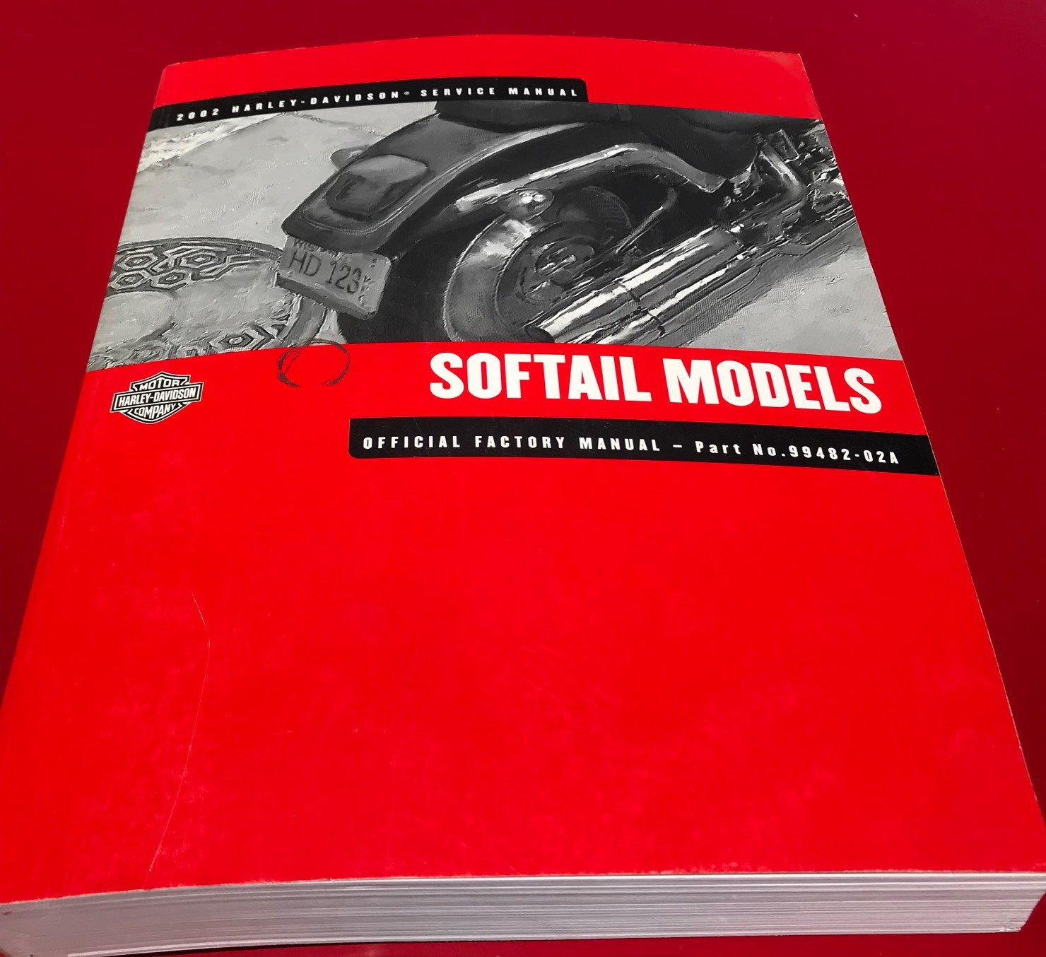 2002 Softail Service Manual - Harley Davidson Forums