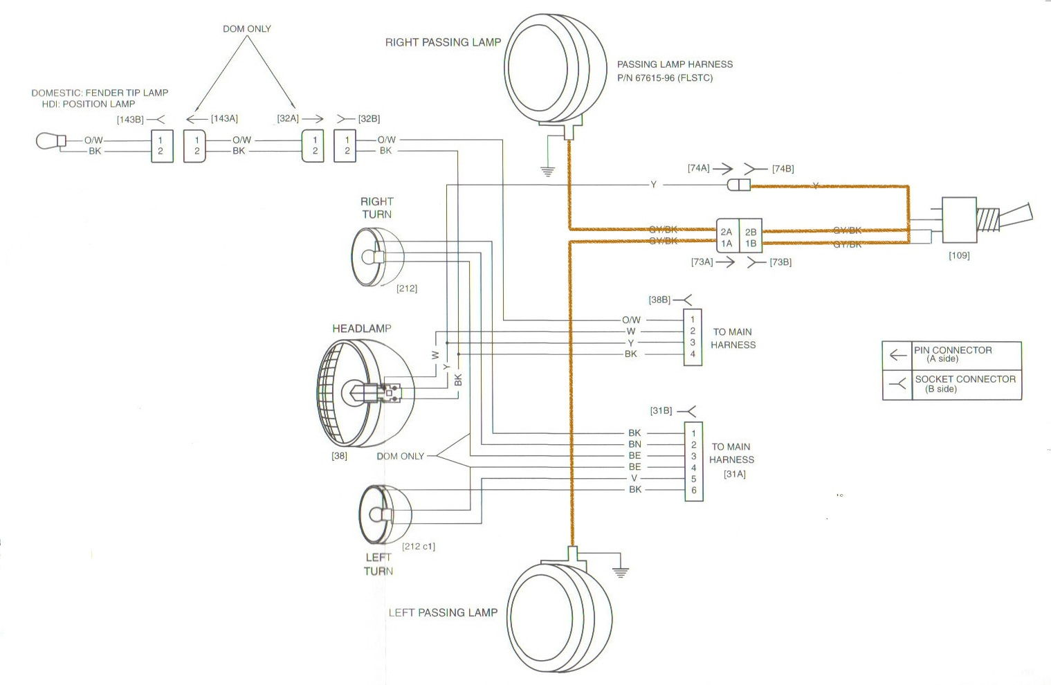harley fog lights wiring diagram