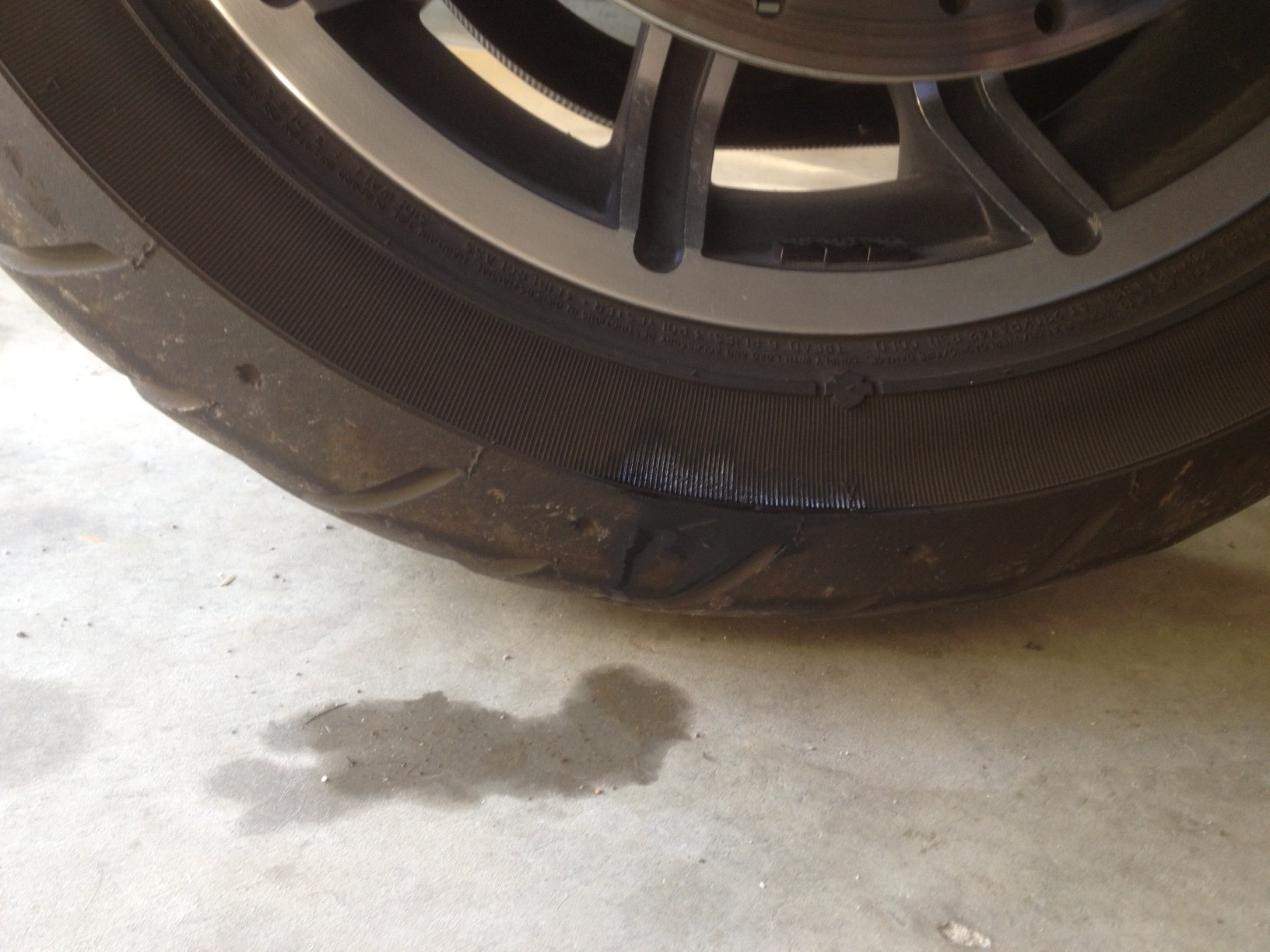 Rear shock leaking oil    - Harley Davidson Forums