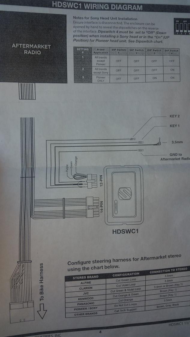 Wiring Diagram Scosche Hdswc1 - Automotive Wiring Diagram •