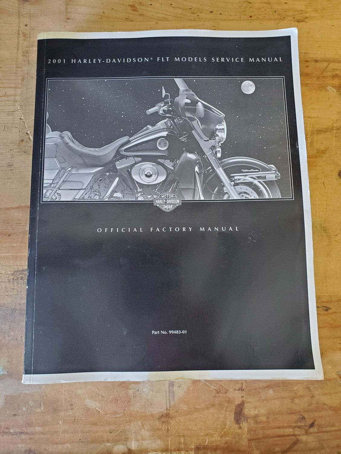 2001 FL Touring Harley Service Manual - Harley Davidson Forums