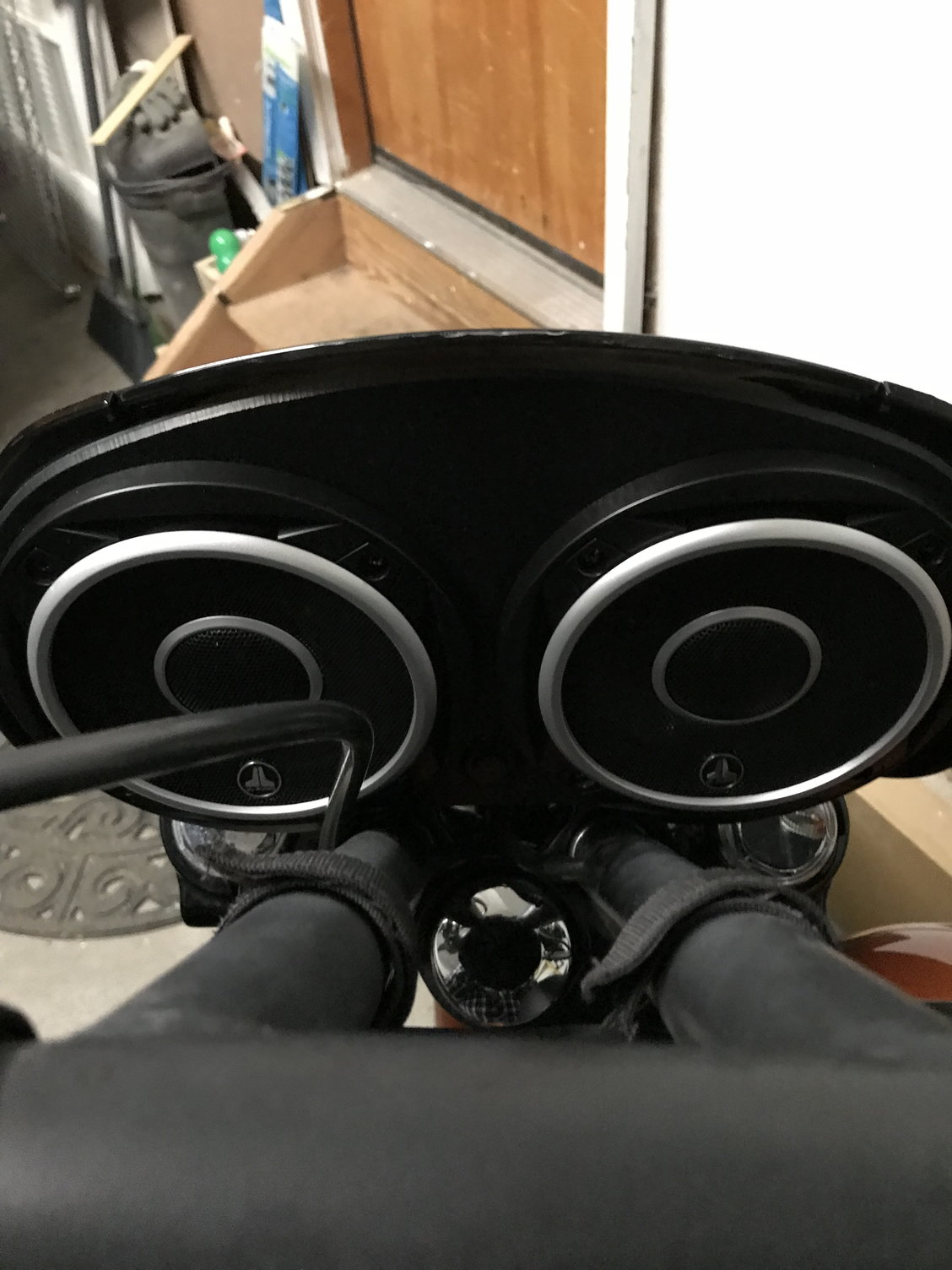 plex audio quarter fairing speakers page 3 harley