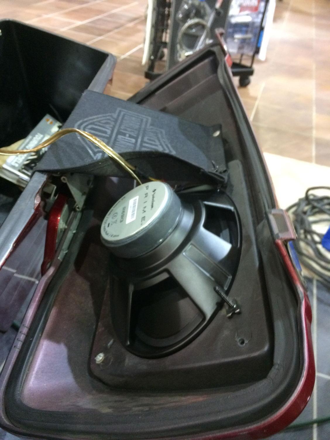 DIY Bag Speakers - Harley Davidson Forums