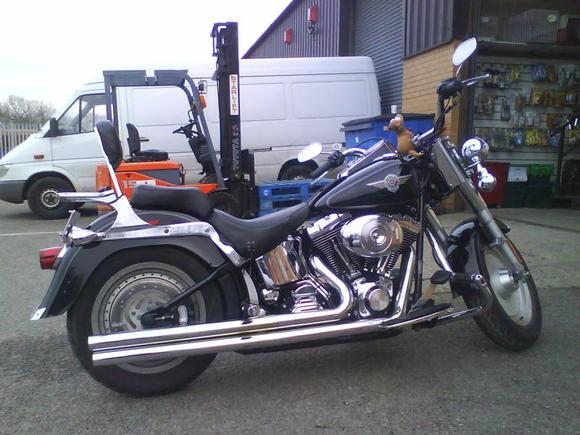 My bike (Fat boy 04)