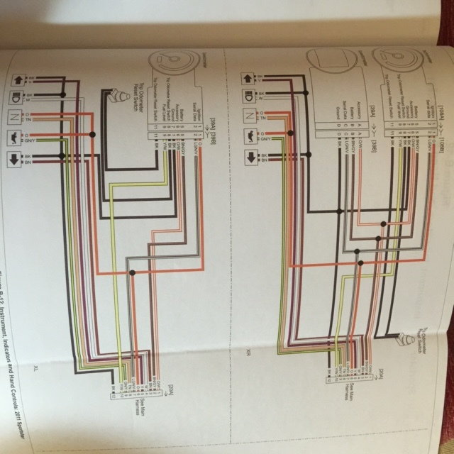Diagram In Pictures Database  1988 Sportster Wiring
