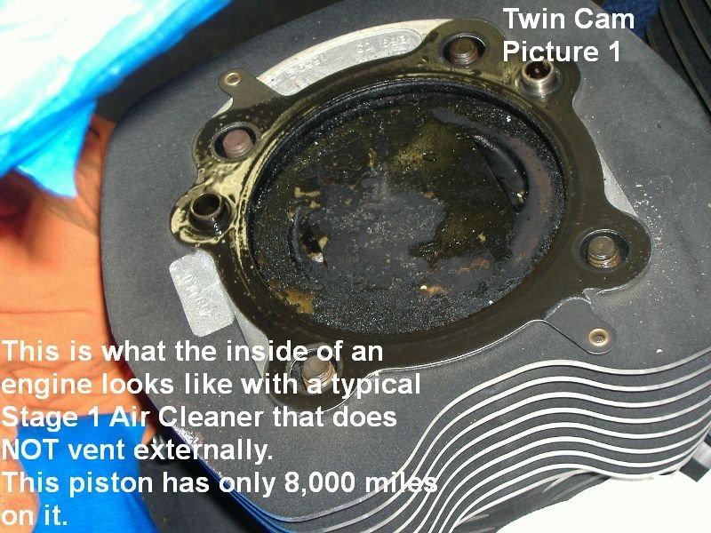 Blown Head Gasket Symptons ? - Page 2 - Harley Davidson Forums