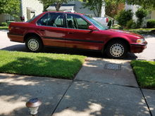 """My 1993 Honda Accord LX. 266,000 miles. Call me """"million mile Marc""""  Was offered 4grand for this car while visiting upstate NY."""