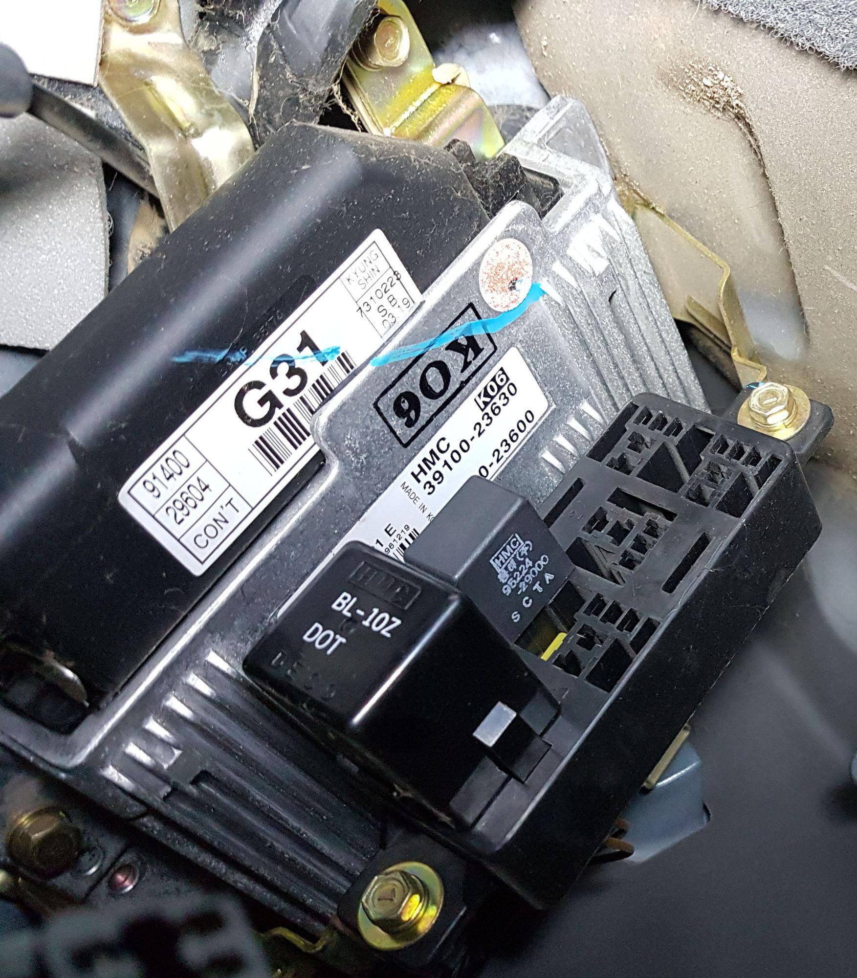 Hyundai Fuel Pump Wiring