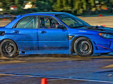 Subiefest 2011, Drift pad Most of the drifting was done in 2nd or 3rd gear