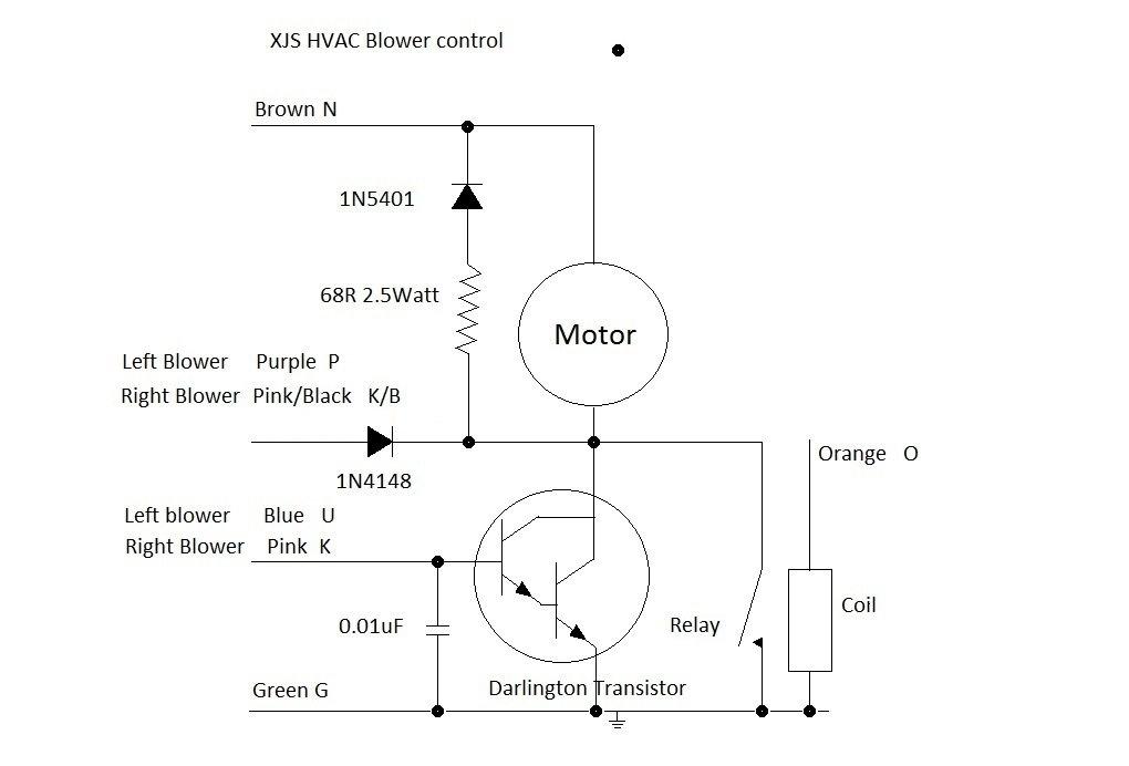 1993 xjs wiring diagram 1996 xjs rh blower fan will not stop jaguar forums jaguar  1996 xjs rh blower fan will not stop