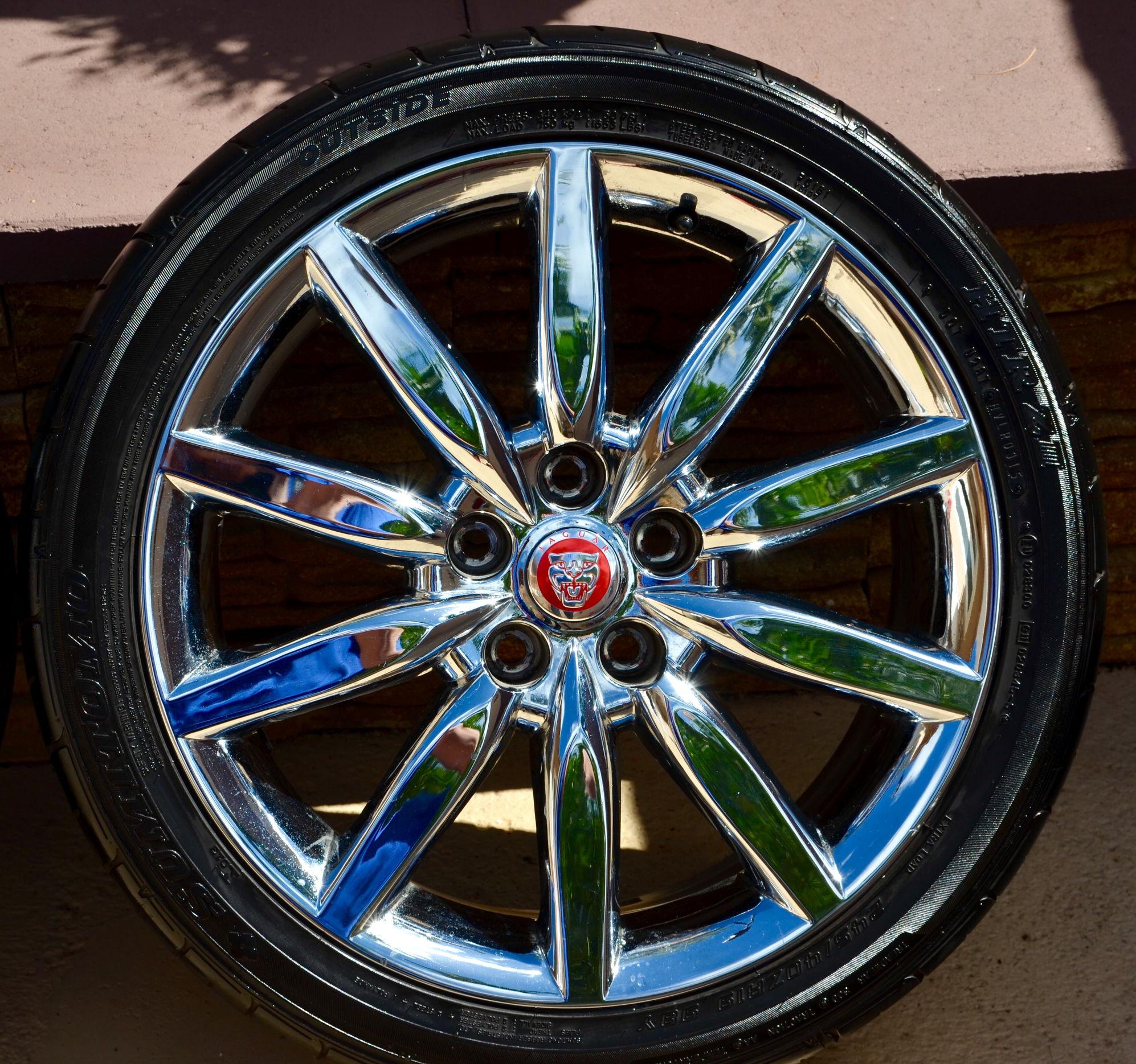 2010 Jaguar For Sale: FS [SouthEast]: Jaguar XK8 XKR Atlas Chrome Wheels (set Of
