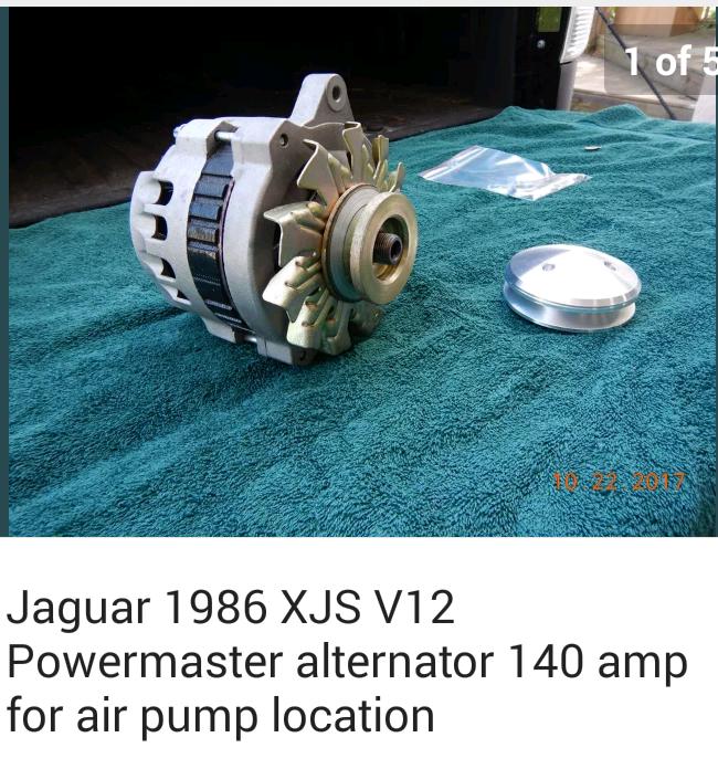 Remove air pump and relocate alternator? - Jaguar Forums - Jaguar ...