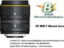 "35 MM & 50 MM LARGE FORMAT MACHINE VISION LENS - ""BALAJI OPTICS"""