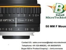 "35 MM & 50 MM LARGE FORMAT MACHINE VISION LENS - ""BALAJI OPTICS"""