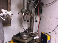 I need a safe place for my stator, somewhere it won't move....one giant magnet meet my cast iron drill press table