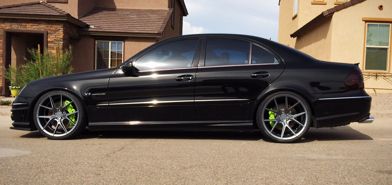 Verde Axis V99 Matte Graphite Concave Staggered Wheels