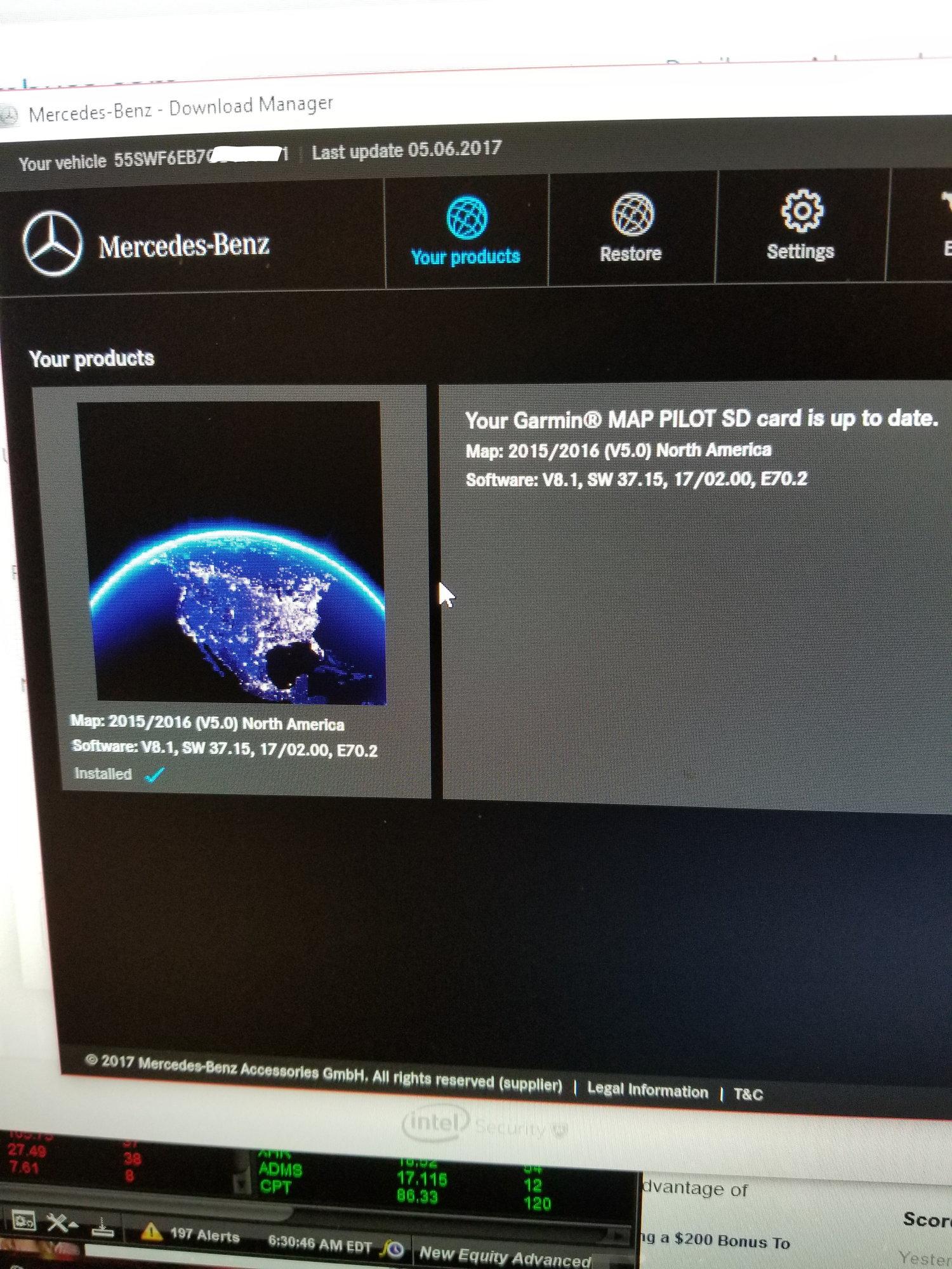 Garmin Map Pilot most recent version? - MBWorld org Forums