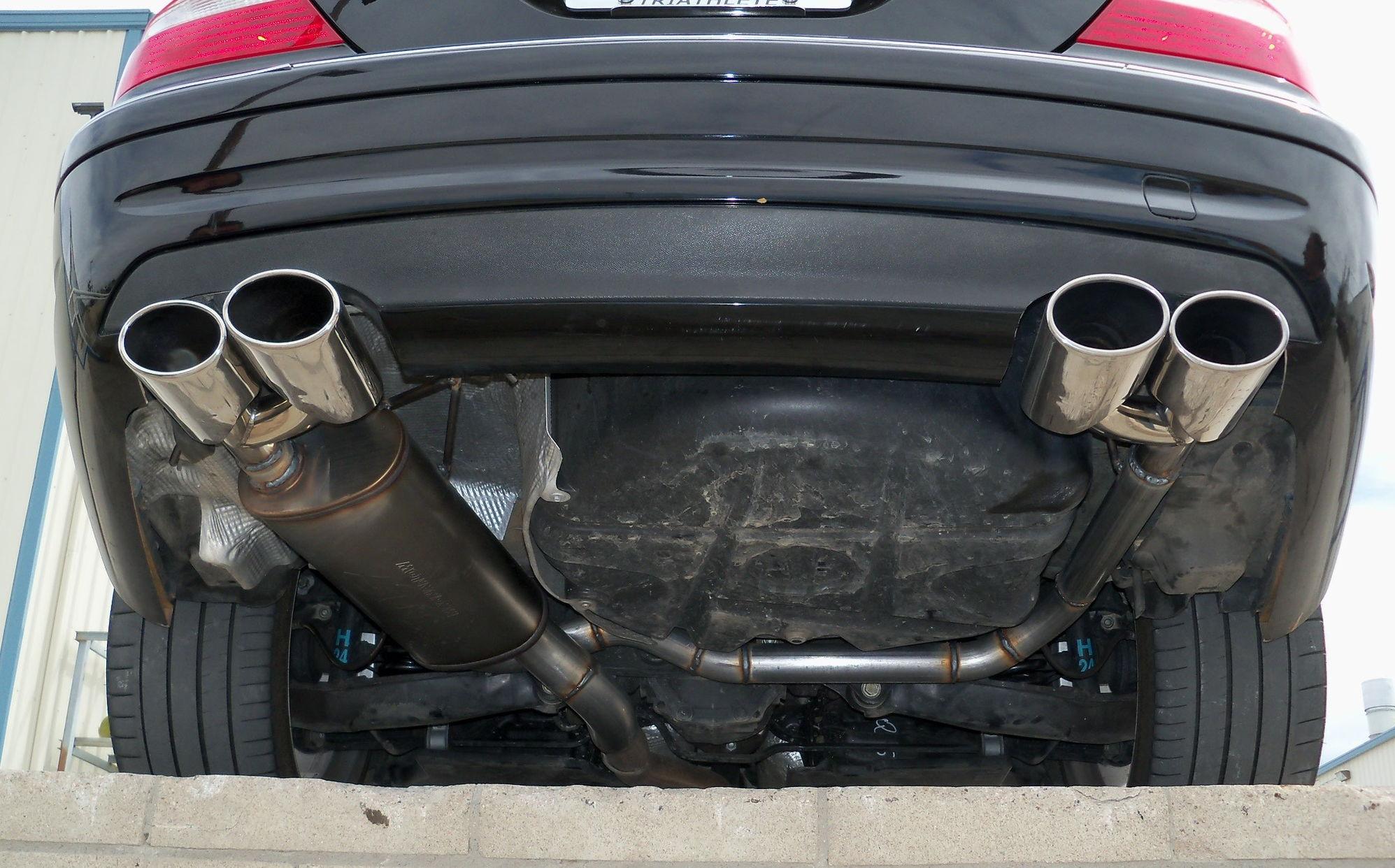 Clk 350 Quad Exhaust Mbworld Org Forums
