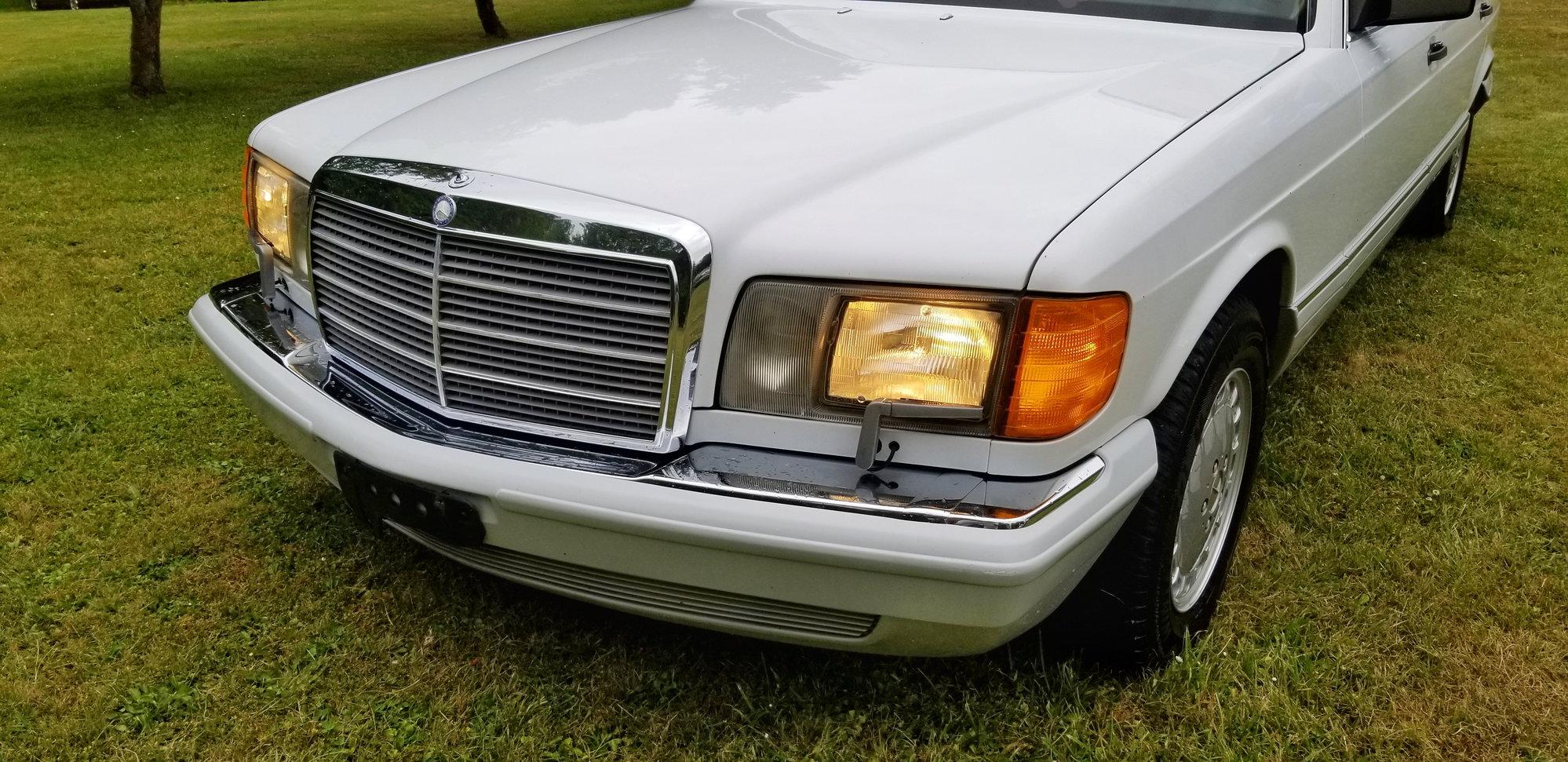 1991 Mercedes Benz 420SEL Part Out