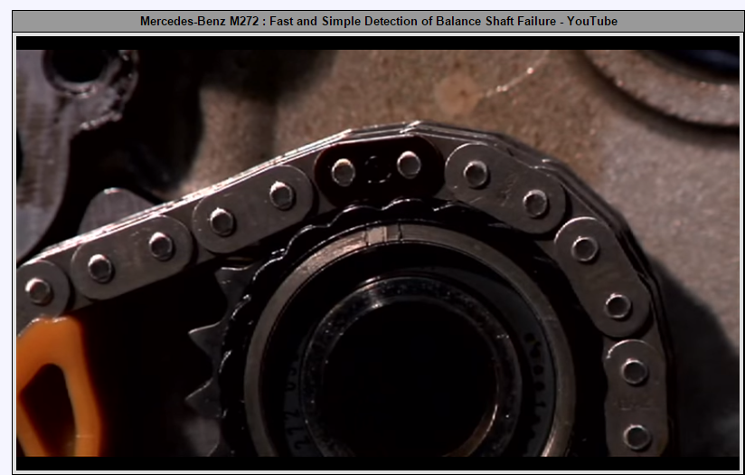 The dreaded M272 Balance Shaft - Page 14 - MBWorld org Forums