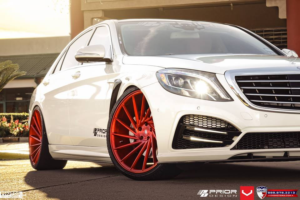 Mercedes Benz Houston North >> Prior Design S-Class W222 custom build with PD800 ...