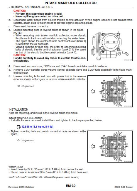 DIY G37 Valve Cover gasket and Spark Plug Tube Gasket change
