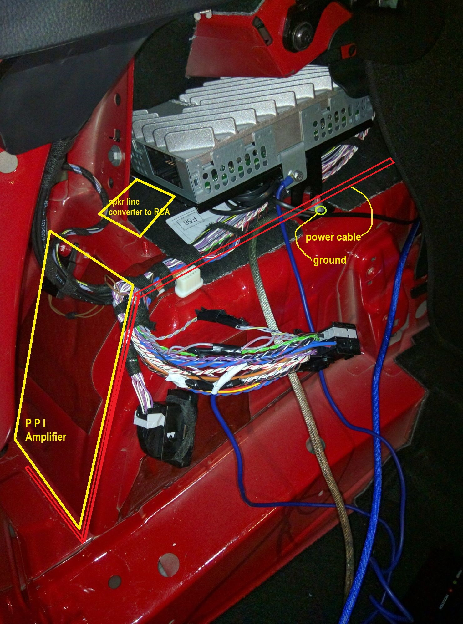 Mini Cooper Amp Wiring Wiring Diagram Home
