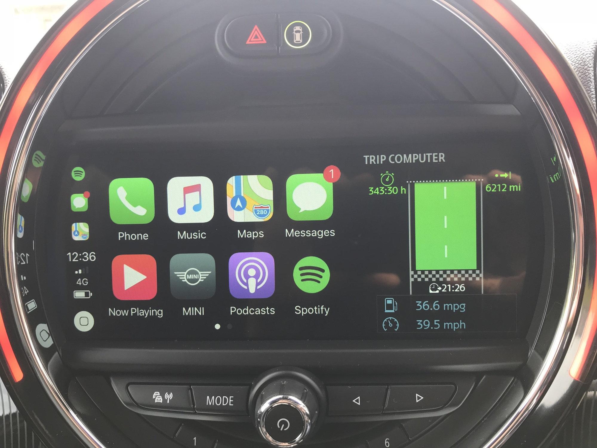 F60 Carplay finally! - North American Motoring