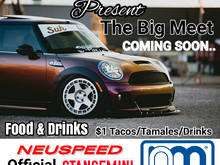 The Big Meet. Coming Soon May 2017. @stancemini