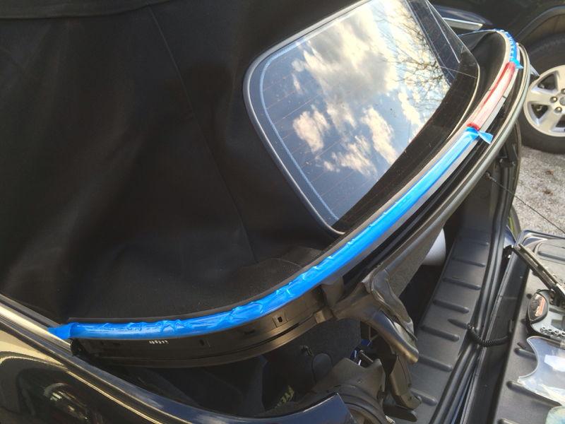 Simply Mini cooper rear grip strip very