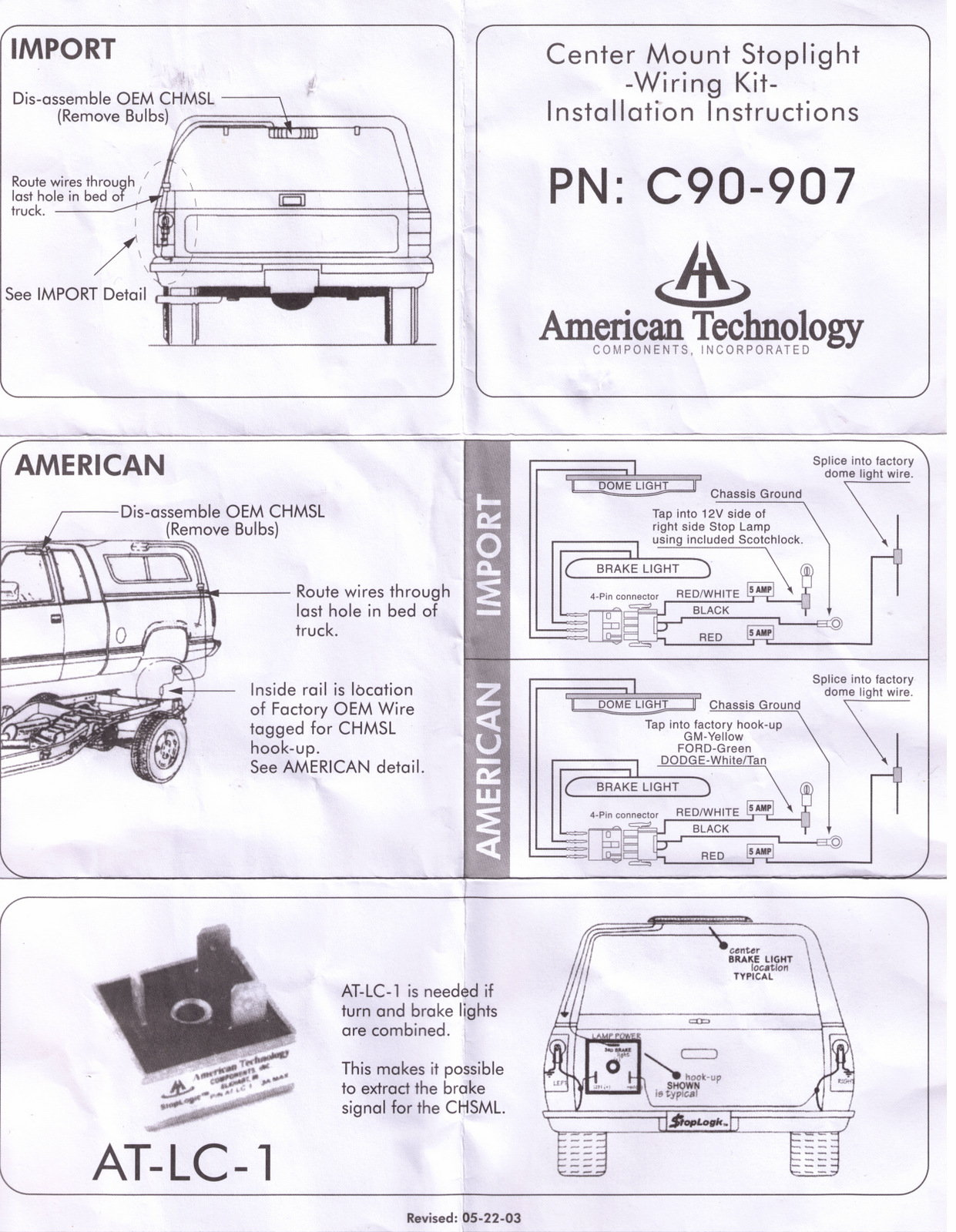 Ford Ranger Tail Light Wiring On Wiring Diagram Trailer Tail Lights