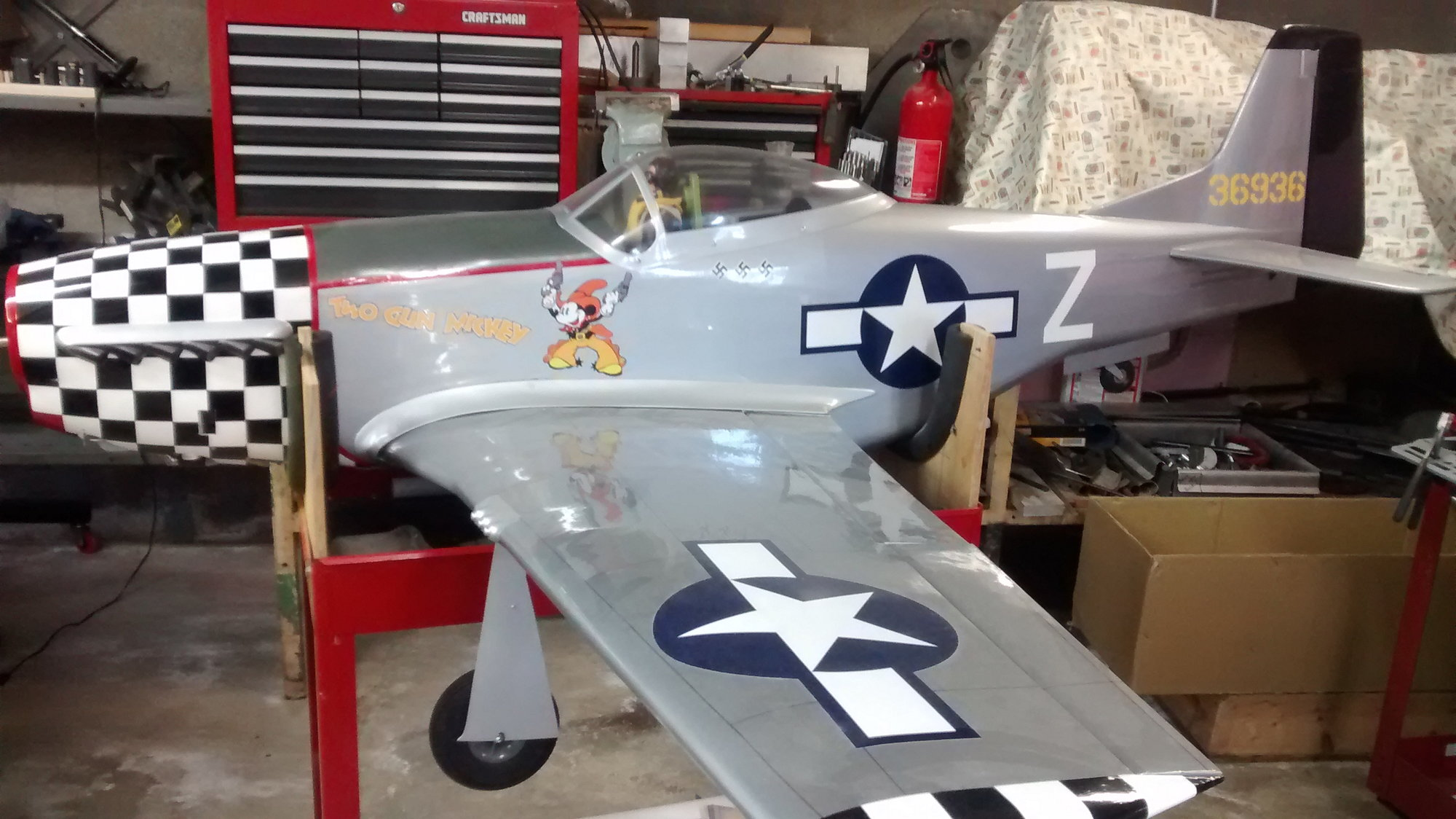Giant P-51 electric retracts - RCU Forums
