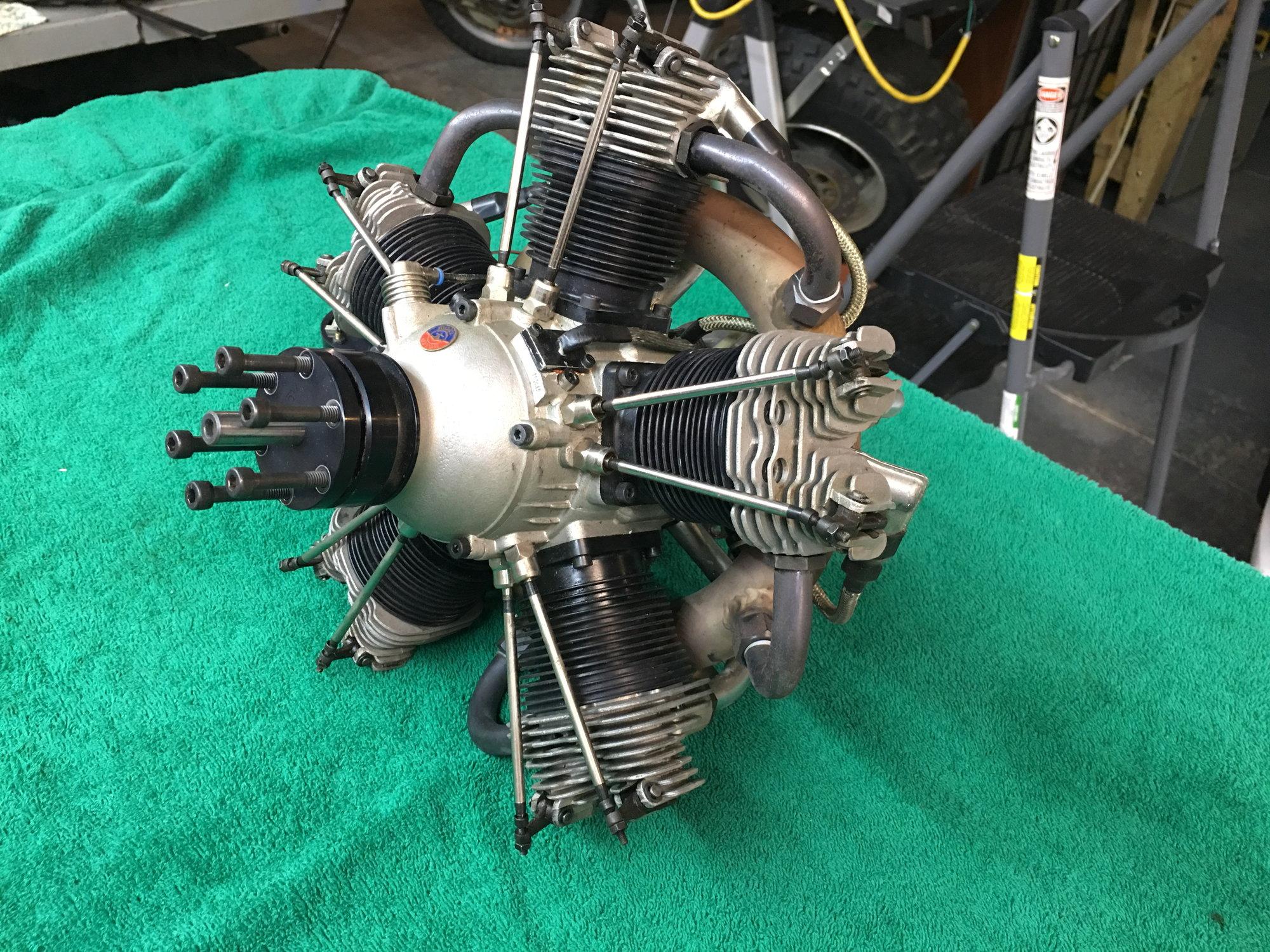 Moki 215 5 cylinder radial - RCU Forums