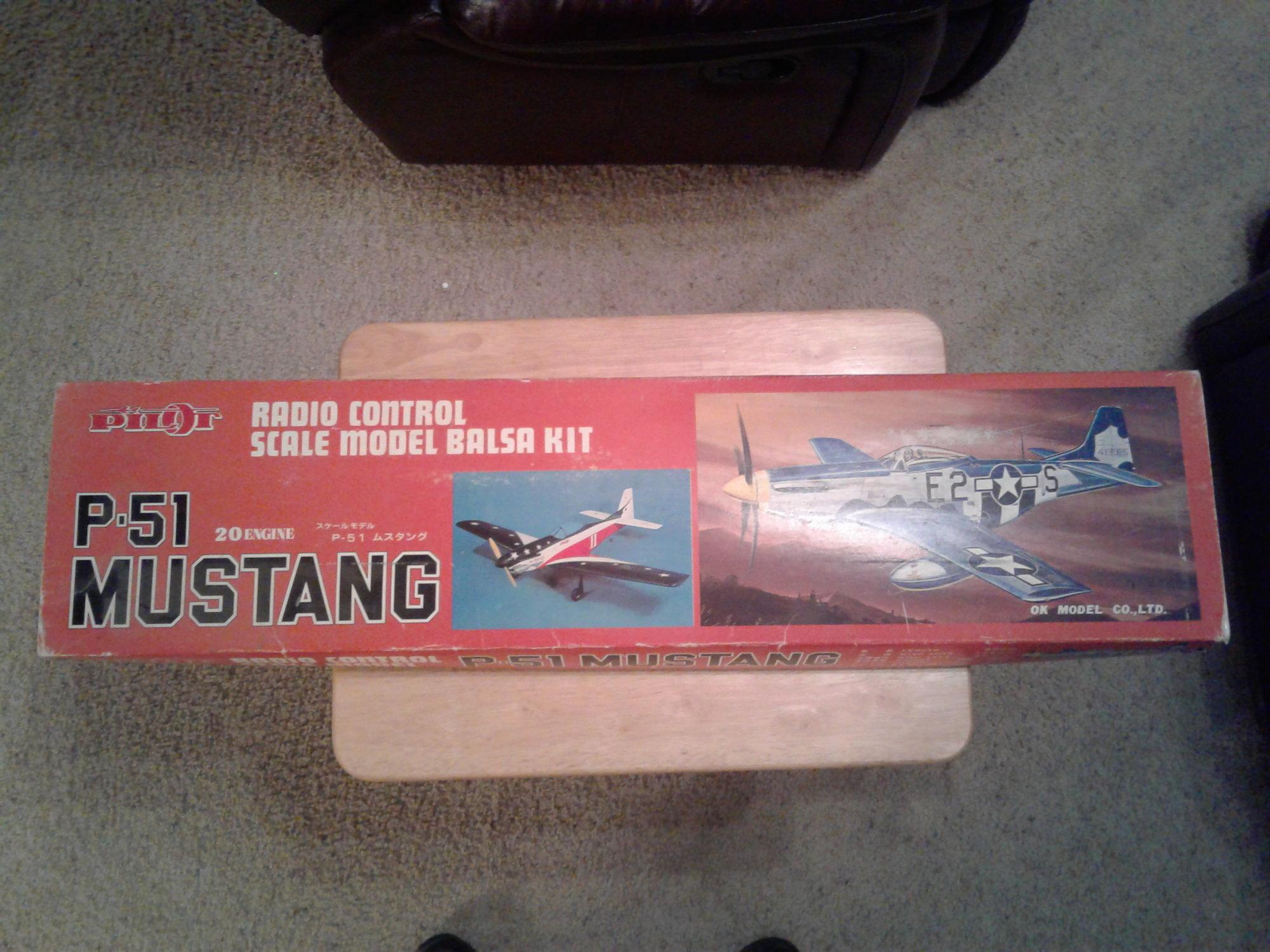 PILOT RC P-51 Mustang balsa kit  - RCU Forums