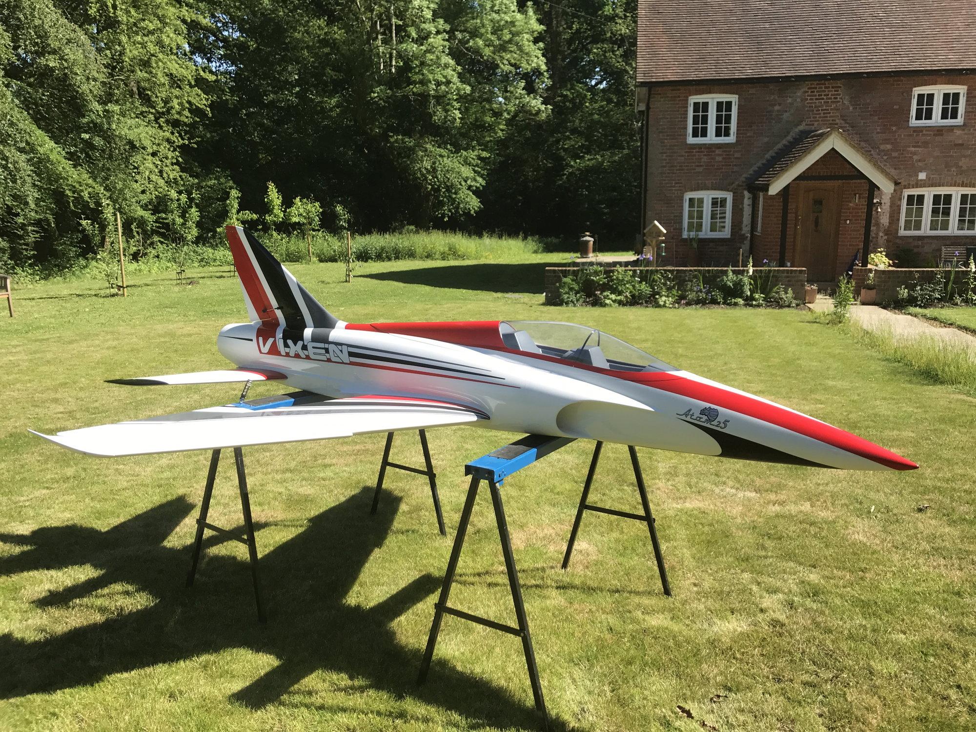 VIXEN sports jet - RCU Forums